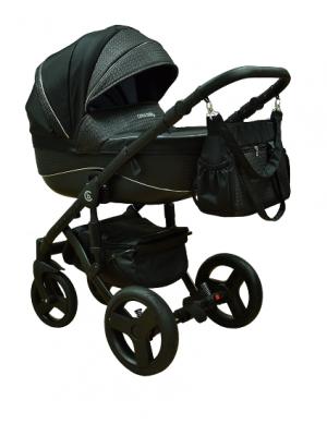 Coto Baby Kočík Gufo 2v1 - black