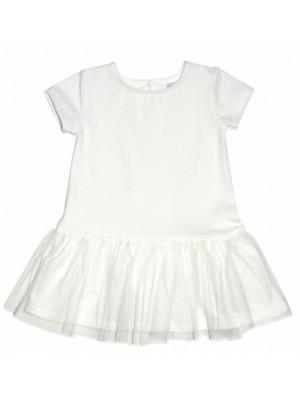 Dojčenské šaty K-Baby - smotanová, veeľ. 98 - 98 (2-3r)