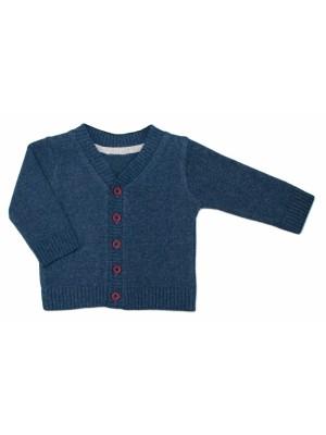 Dojčenský svetrík K-Baby - granát, veľ. 74 - 74 (6-9m)