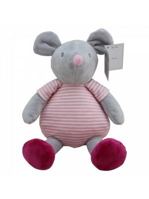 Plyšová hračka Tulilo Myška, 20 cm - sivá