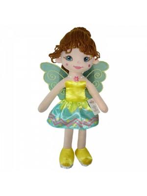 Handrová bábika Tulilo Florentyna, 45 cm - zelená