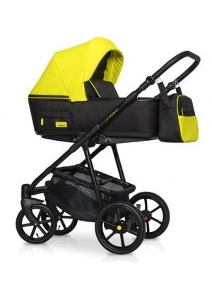 Dětský kočík 2v1, Riko 2019 - Swift Neon -  Crazy Yellow