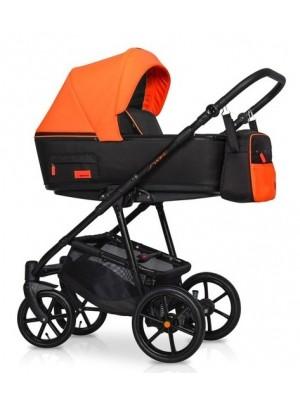 Dětský kočík 2v1, Riko 2019 - Swift Neon -  Party Orange