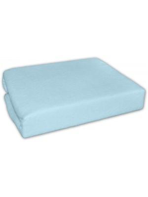 Baby Nellys Jersey plachta do kočíka 75 x 35 - modrá - 75x35