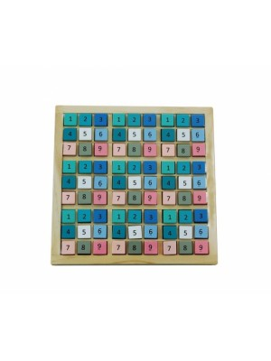 Adam Toys Drevené Sudoku