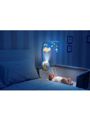 Chicco  Projektor s melódiou Next 2 Moon - Medvedík ružový