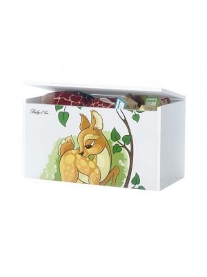 Babyboo Box na hračky s motívom Bambi
