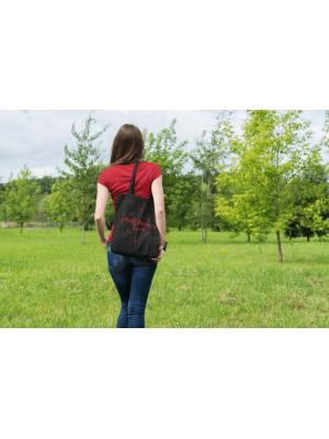 Bavlnená taška pre mamy Best Mom Ever - čierna