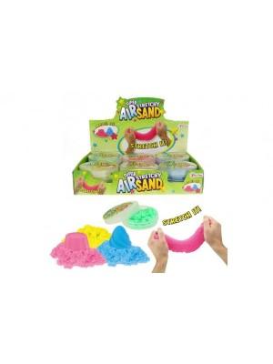 Čarovný piesok pomaly tečúce tvorivá tvarovacie hmota sliz 50g 4 farby v plast.krabič