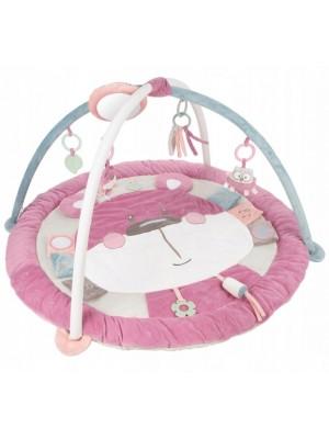 Canpol Babies, Edukačná hracia podložka Pastel friends - ružová