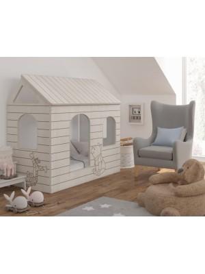 Babyboo Detská posteľ 160 x 80 cm - DOMČEK - 160x80
