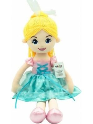 Handrová bábika Emilka, Tulilo, 52 cm - blond vlasy