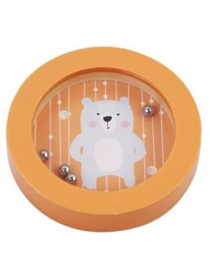 Adam Toys Balančné hra, mini labyrint - medveď