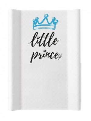 NELLYS Prebaľovacia podložka, tvrdá MDF, Little Prince, 50 x 70cm, biela