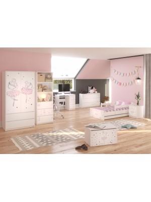 Babyboo Detská izba Baletka - 140x70
