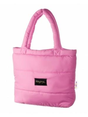 Baby Nellys taška na kočík STYLE, světlo ružová