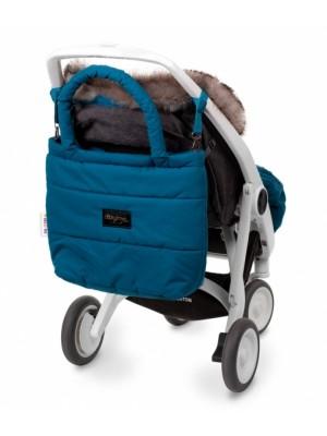 Baby Nellys taška na kočík STYLE, morská