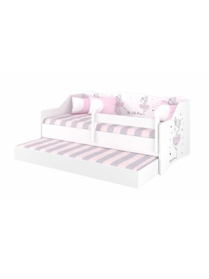 Babyboo Detská posteľ LULU 160 x 80 - Baletka - 160x80