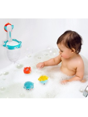 Akuku Sitko - kôš s hračkami do vane - 4 ks