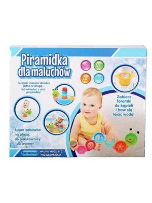 Baby Artyk Pyramída Stonožka - 7 dielikov