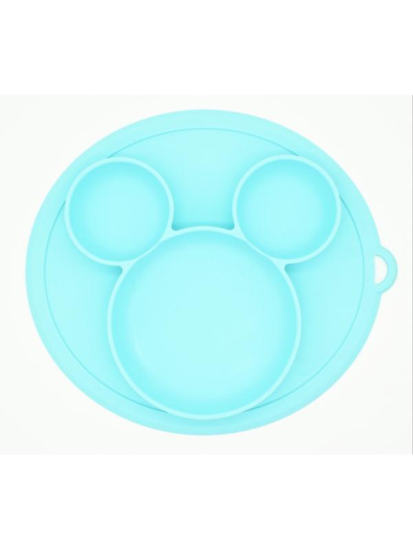 Baby in World Silikónová miska - modrá