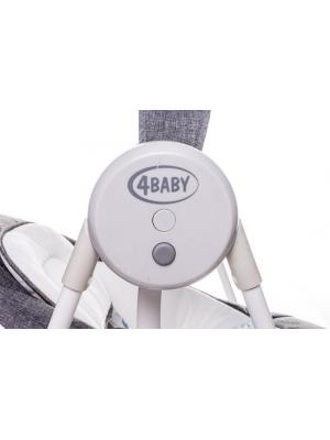 4 BABY Lehátko / hojdačka pre dojčatá Swing - béžové