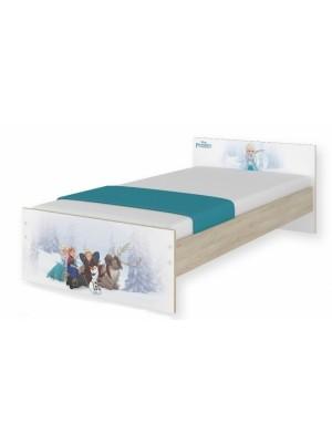 BabyBoo Detská junior posteľ Disney 180x90cm - Frozen + šufík - 180x90