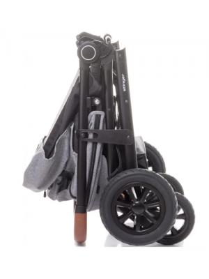 4 BABY Športový kočík Stinger XXL - čierny