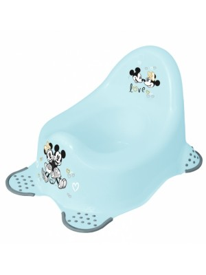 Keeeper Nočník Mickey Mouse s protišmykovou úpravou - modrý