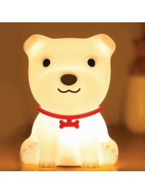 Innogio Prenosná silikónová lampička - Dog