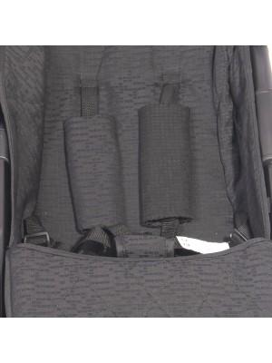 Kočík Lorelli TWIN GREY&BLACK CROSS+Taška na kočárek