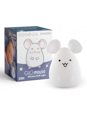 Innogio Prenosná silikónová lampička - Mouse