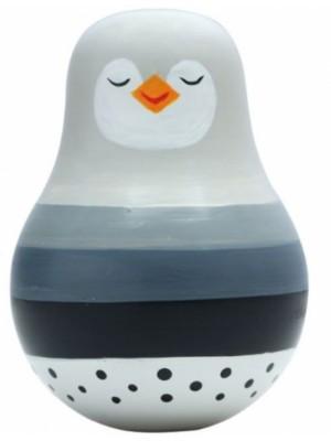 Magni Balančné hračka Roly poly, Tučniak sivá