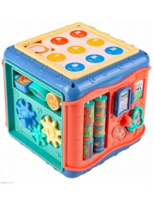 Tulimi Vzdelávacie senzorická kocka 6v1 s labyrintom