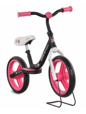 Byox Detský balančný bicykel Zig-Zag, ružové