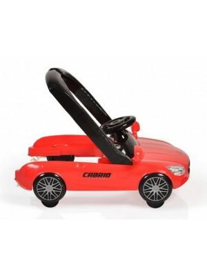 Cangaroo Detské chodítko 2v1 Cabrio - červené