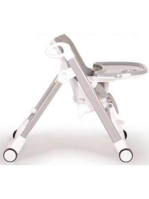 Cangaroo Detská jedálenská stolička Brunch - sivá