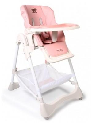 Cangaroo Detská jedálenská stolička Chocolate - ružová