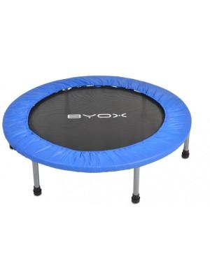 Byox Detská skákacia trampolína 114 cm - modrá