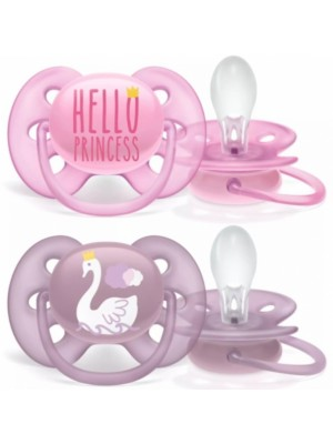 AVENT Cumlíky 6-18 m Ultra Soft Hello, Girl - ružová/lila