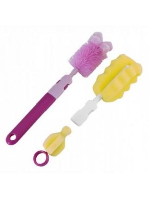 Sada kief na umývanie fliaš Canpol Babies - rôzne farby