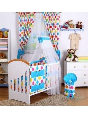 Baby Nellys 10-dielny set Baby Dreams Bubble - 140x70