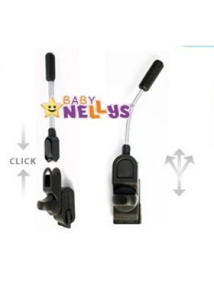 Slnečník, dáždnik do kočíka Baby Nellys ® - červený