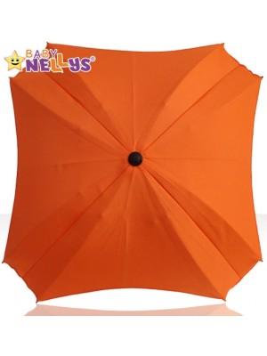 Slnečník, dáždnik do kočíka Baby Nellys ® - amarant