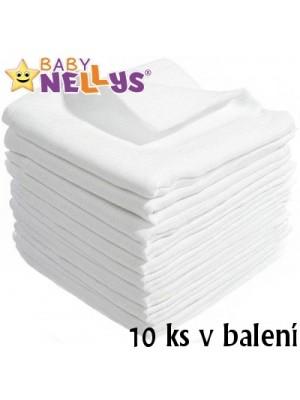 Kvalitné bavlnené plienky Baby Nellys - TETRA LUX 60x80cm, 10ks v bal.