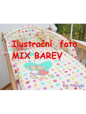 Darland Obliečky do postieľky MIX - 120x90