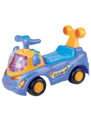 Euro Baby Odrážadlo, jazdítko - FUNNY CAR - fialové