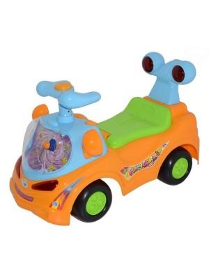 Euro Baby Odrážadlo, jazdítko - FUNNY CAR - oranžové