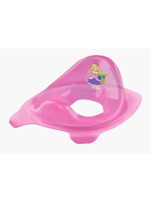 Keeeper Adaptér - tréningové sedádko na toaletu Little Princess - ružové