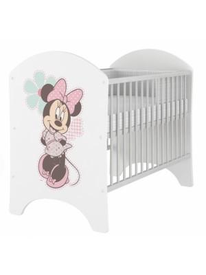 BabyBoo Dětská postieľka detská Minnie - 120x60cm